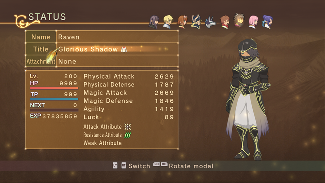 Tales of Vesperia Costume and Title Guide: every single