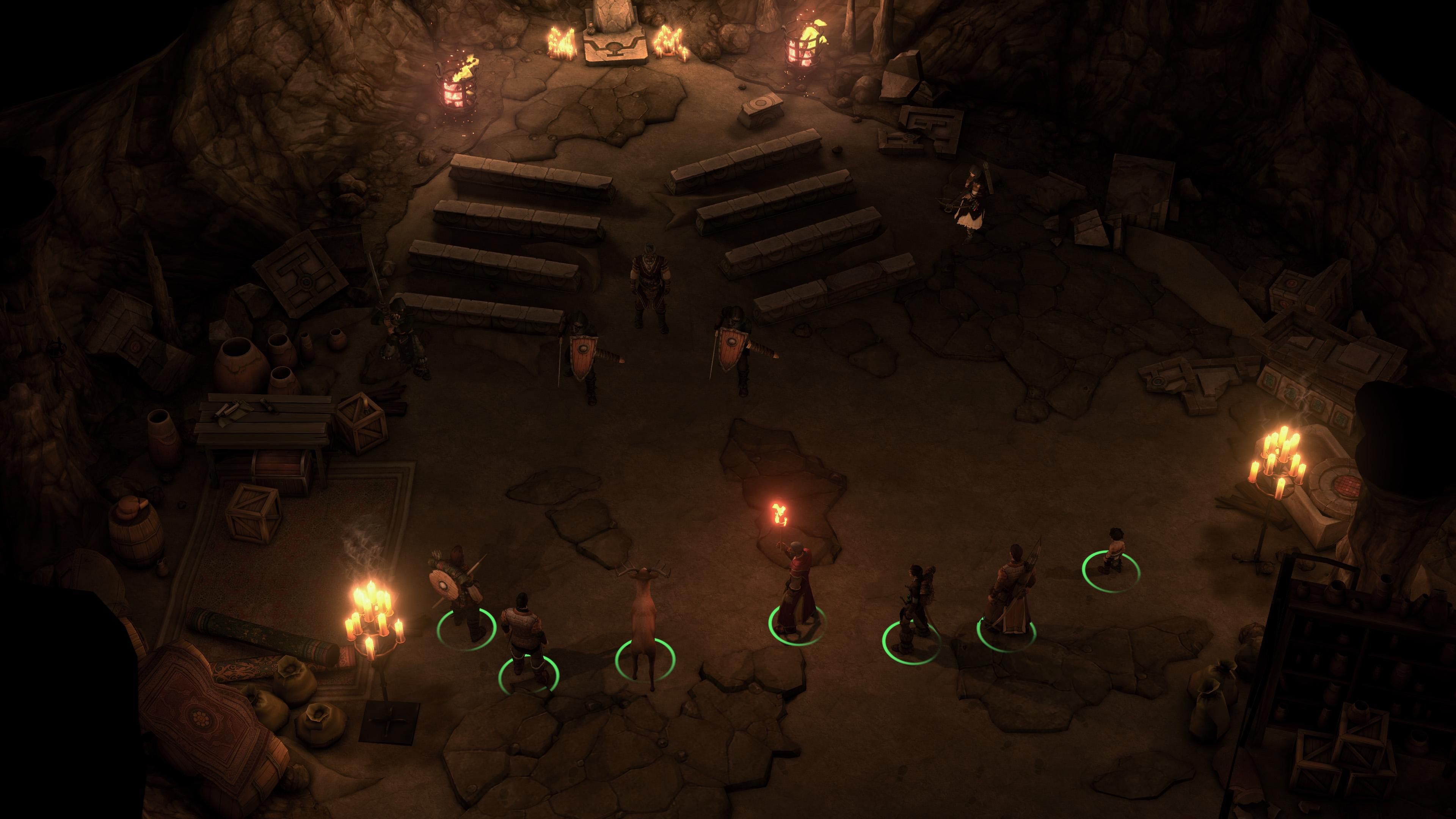 Pathfinder: Kingmaker's second DLC, Varnhold's Lot, releases