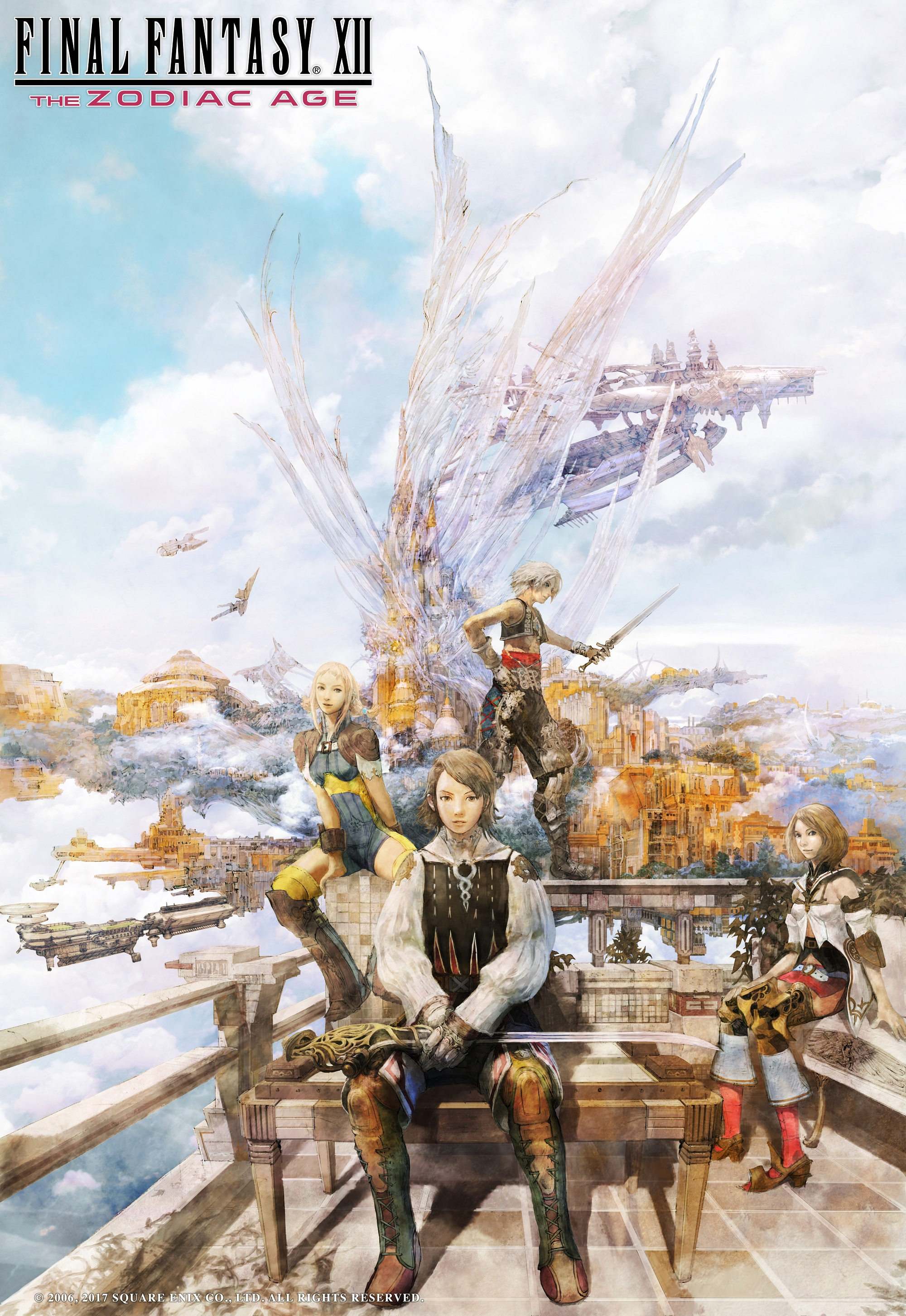 Final Fantasy XII: The Zodiac Age differences, changes and