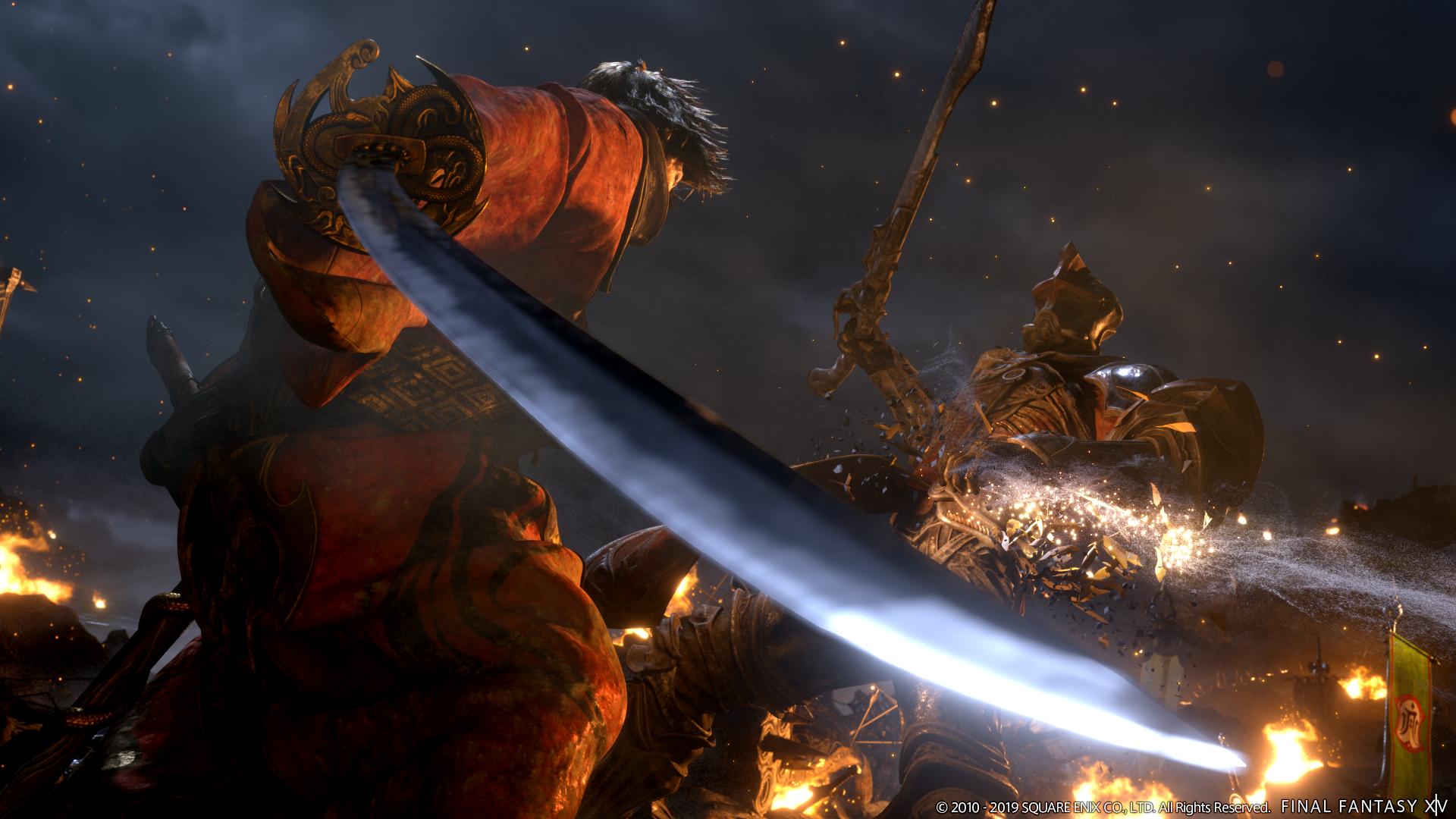 Final Fantasy XIV: Shadowbringers introduces Dancer class, Hrothgar