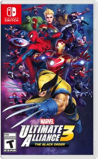 Marvel ultimate alliance the black order boxna