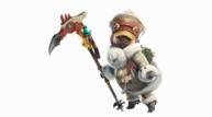 Monster hunter world iceborne palico armor set