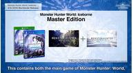Monster hunter world iceborne master