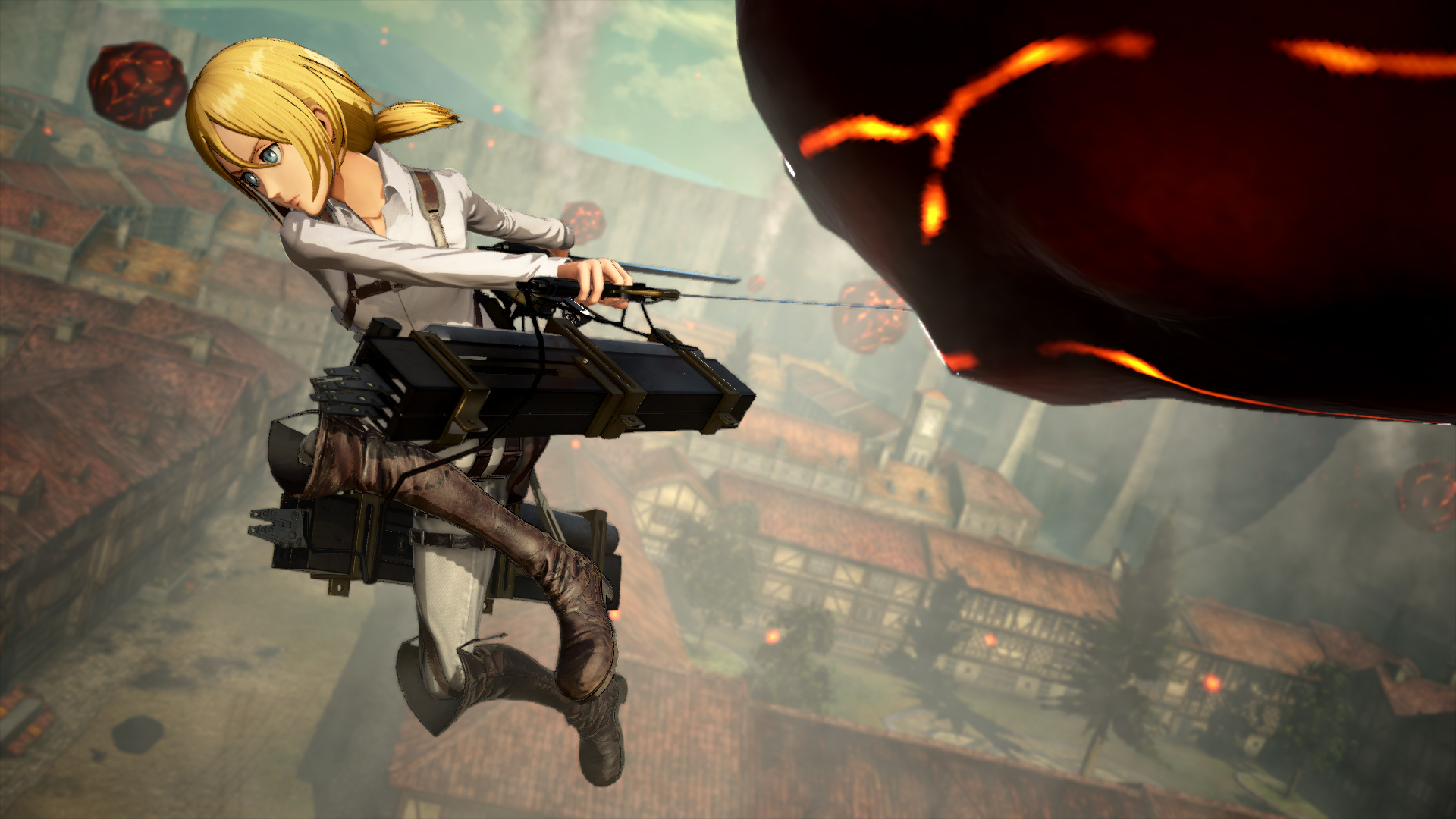 Attack on Titan 2: Final Battle trailers shows new ...