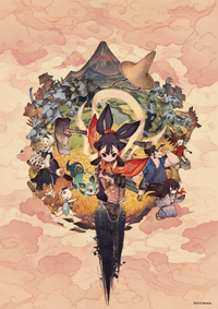 Sakuna of rice and ruin keyart