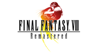Ffviii remastered logo on white