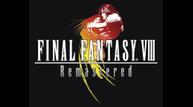 Ffviii remastered logo on black