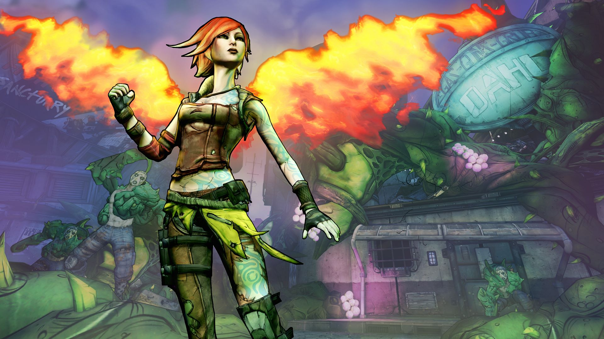Borderlands 2: how to start the Commander Lilith DLC and get