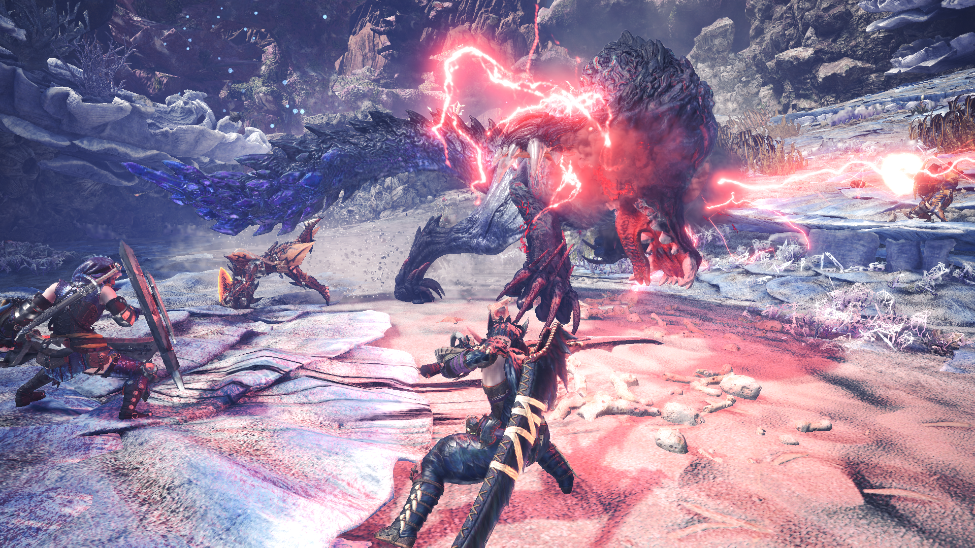 Monster Hunter World Iceborne Introduces Glavenus Anjanath And