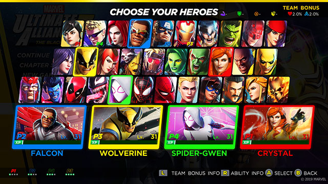 Marvel Ultimate Alliance 3 Leveling guide: how to grind to level up