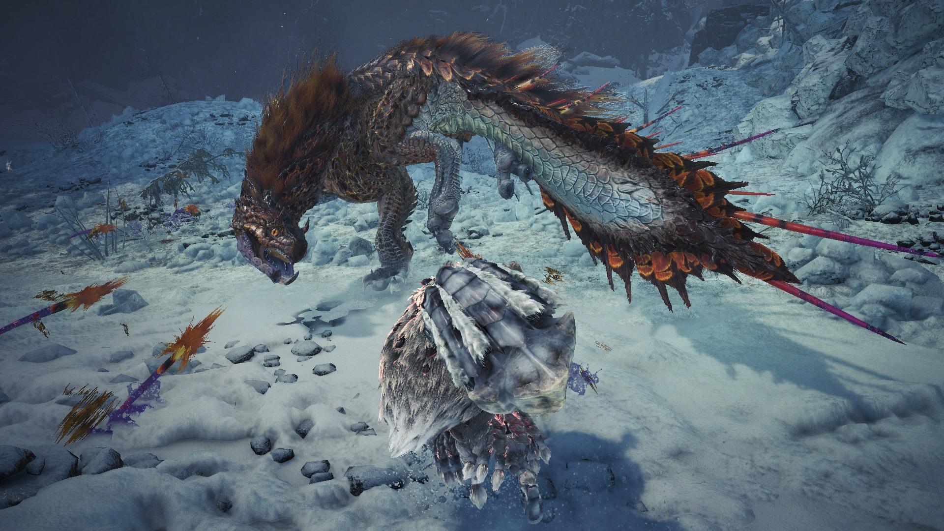 Monster Hunter World Iceborne Shows Off Viper Tobi Kadachi