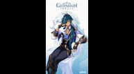 Genshin impact kaeya art