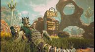 Theouterworlds hands on mantisaur