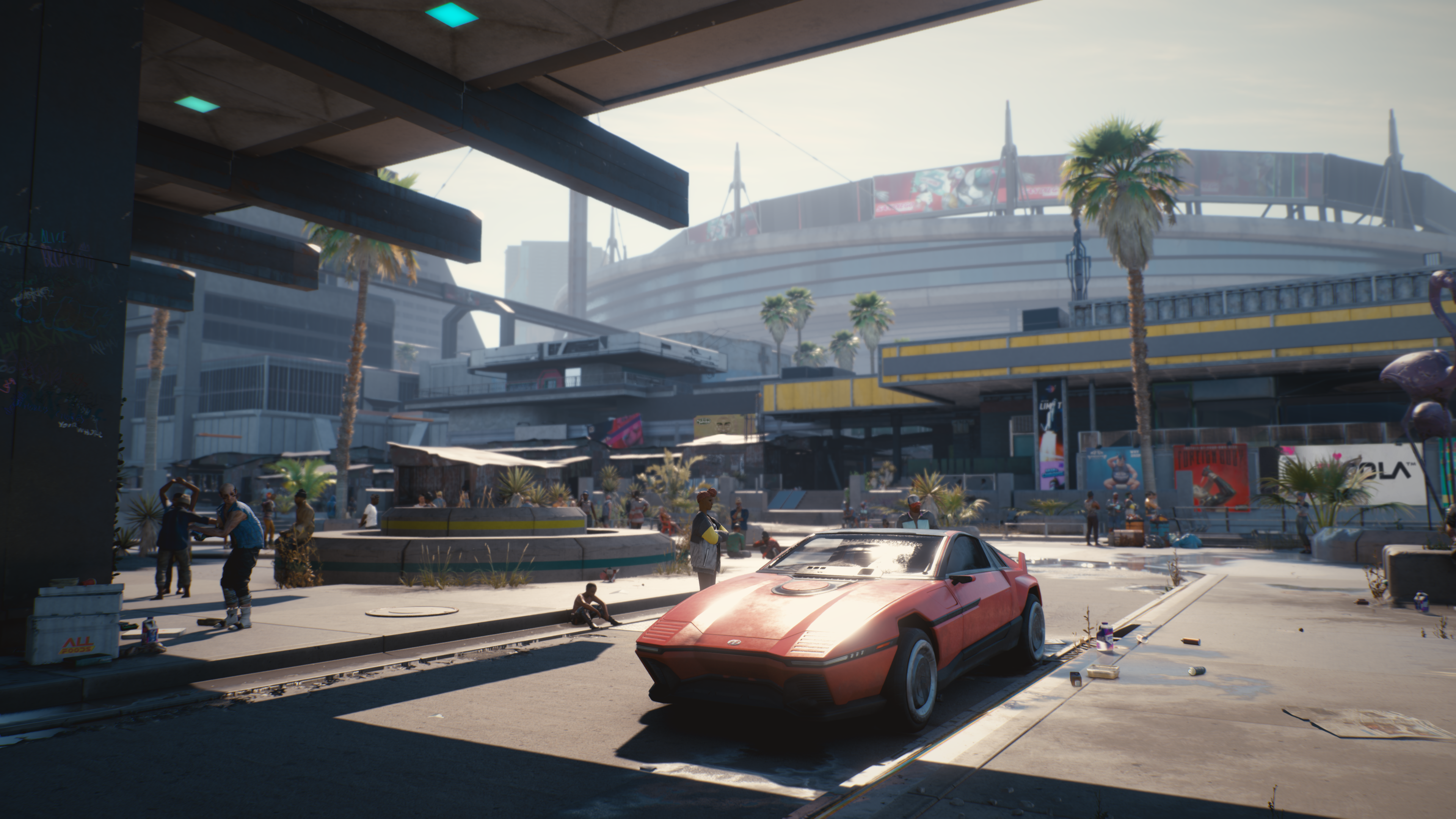 Cyberpunk 2077 Interview Exploring The Environment With