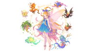 Trials of mana fairie transparent