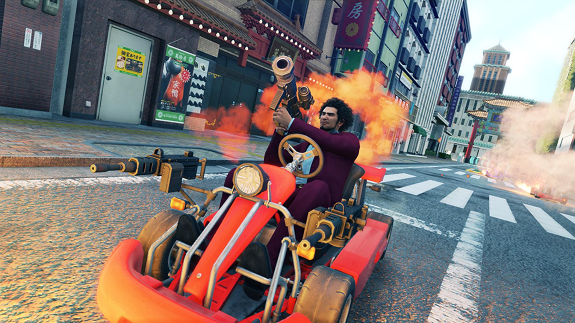Yakuza Like A Dragon Tokyo Game Show Story And Gameplay