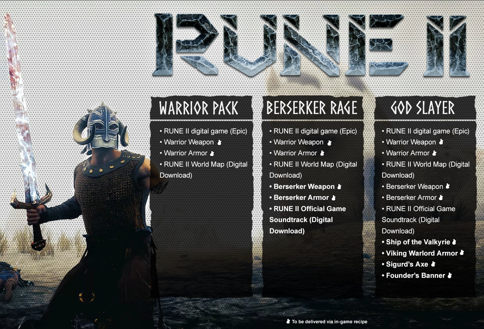 Rune II launches on November 12 for PC via Epic Games Store | RPG Site