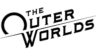 The outer worlds logo blk