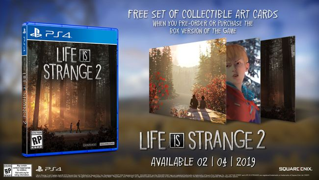 Resultado de imagen de Life is Strange 2 standard