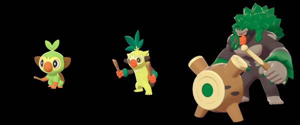 Pokemon Sword And Shield Starters Starter Evolutions And Help Choosing The Best Starter For You Rpg Site Are these images of grookey and sobble's evolutions real? pokemon sword and shield starters