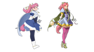 Star ocean character art millie compare