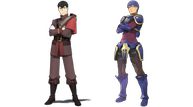 Star ocean character art ronyx compare