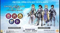 Sword art online alicization lycoris preorder eu