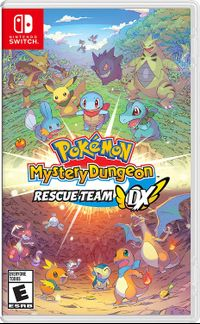Pokemon mystery dungeon rescue team dx boxart