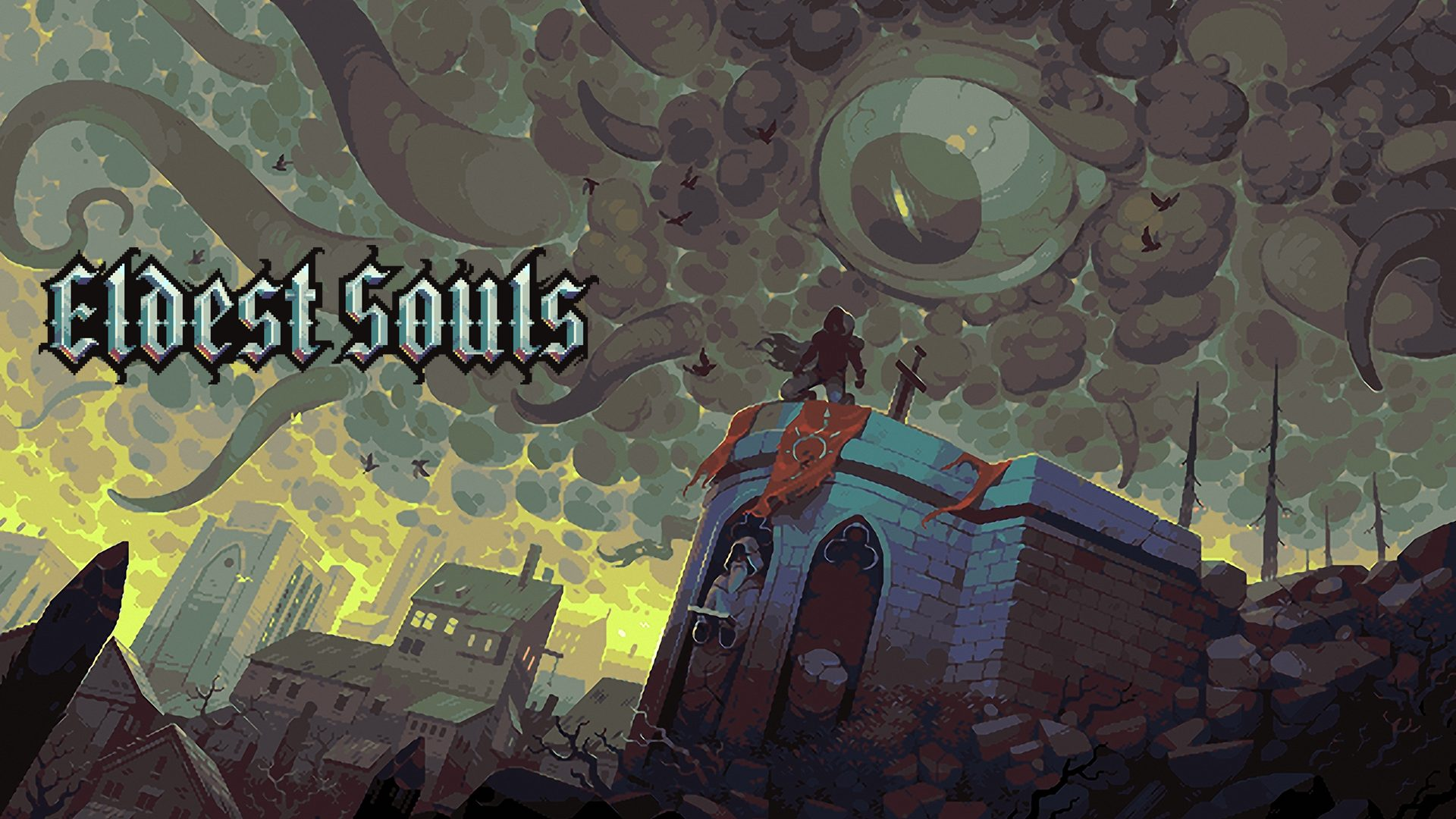 Eldest Souls, Pixelated Souls-like, Adds PlayStation & Xbox to Q2 2021 Launch