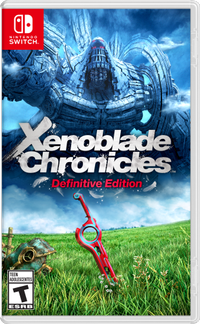 Xenoblade chronicles definitive edition box