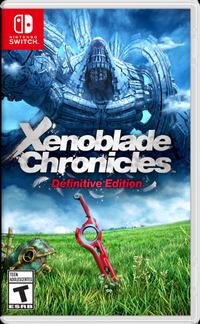 Xenoblade chronicles definitive edition box