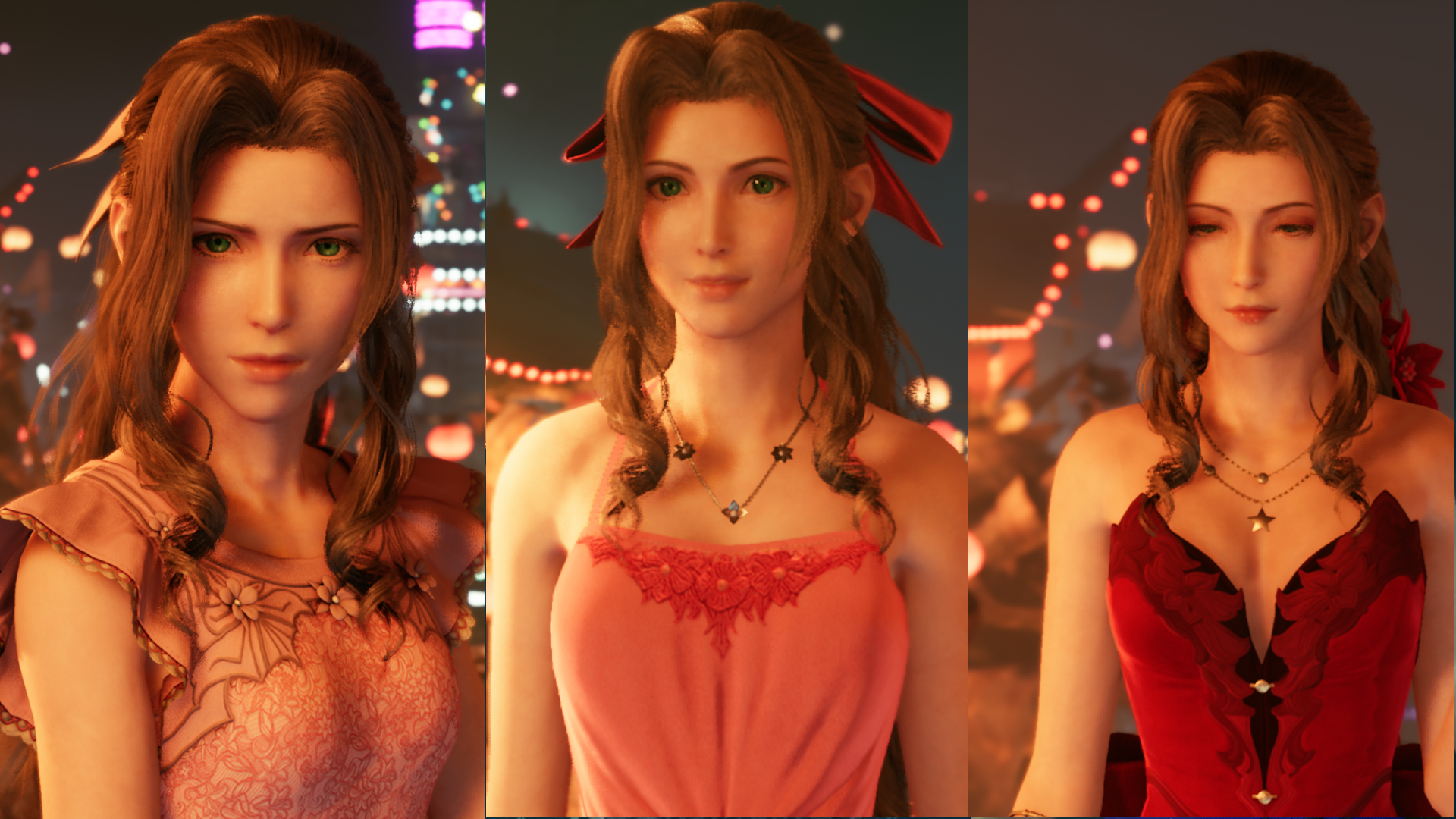 Final Fantasy Vii Remake Dresses How To Get Every Dress For Tifa Cloud And Aerith Rpg Site