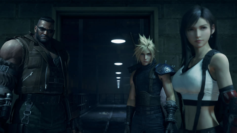 Free Final Fantasy 7 Remake PS4 Dynamic Themes Now Available To Download