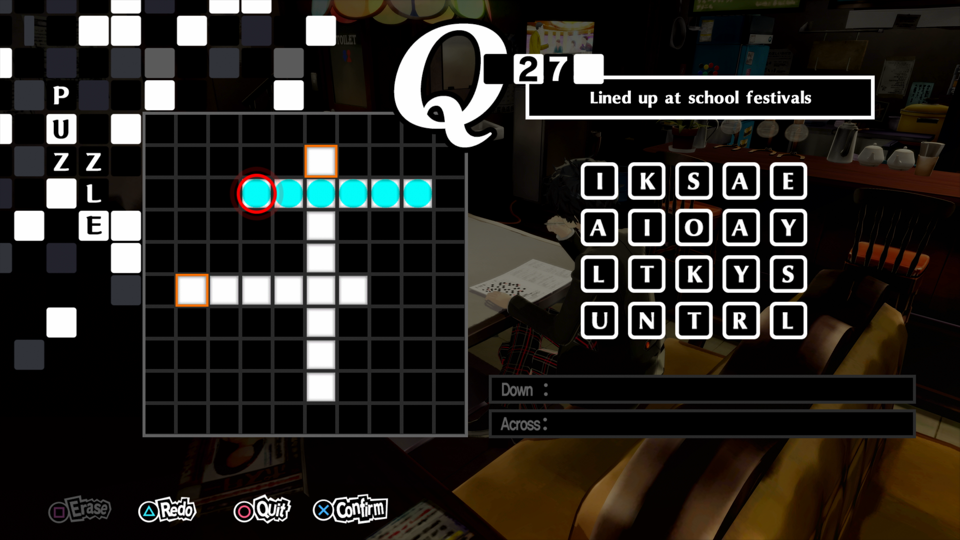 Persona 5 Royal Guide All Crossword Answers Rpg Site