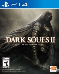 Dark souls ii scholar of the first sin ps4 box