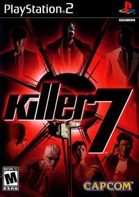 Killer7 box ps2 na