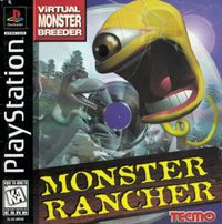 Monster rancher box psx