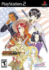 Sakura wars box art