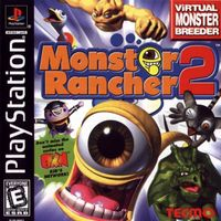 Monster rancher 2 ps1boxart