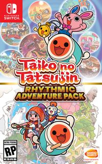 Taiko no tatsujin rhythmic adventure pack box art