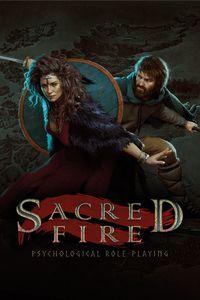 Sacred fire vert art