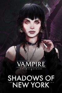 Vampire the masquerade shadows of new york vert art