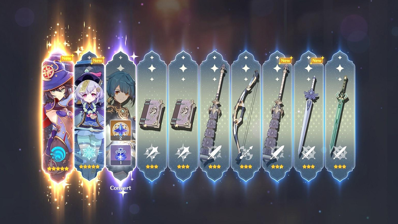 Genshin Impact All 5 Star Characters Weapons Rpg Site