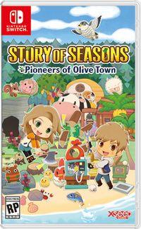 Story of seasons pioneers of olive town box art