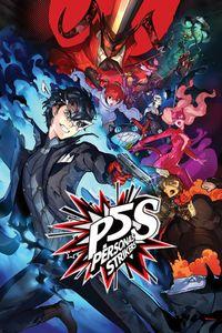 Persona 5 strikers vert art