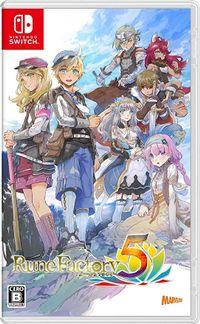 Rune factory 5 box jp