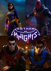 Gotham knights vert art