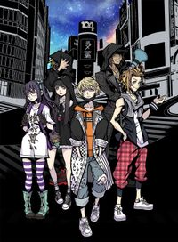 Neo the world ends with you vertical keyart