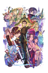 The great ace attorney chronicles keyart