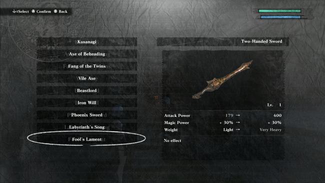 nier_replicant_weapons_fools_lament.png